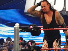Undertaker's decimated nose