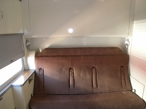 Private Rail Car -  Vista Canyon, Bedroom by day