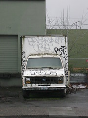 (Six Month Vacation) Tags: oregon portland graffiti us kevin harris bkf bryte kyer ron4 upyos