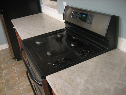 Backsplash ideas for two different countertop colors