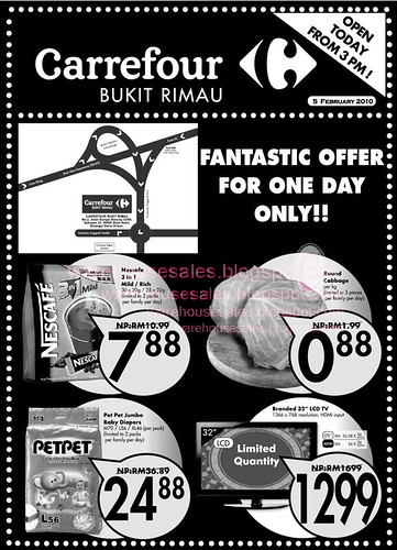 05 Feb: Carrefour Bukit Rimau Fantastic Offer