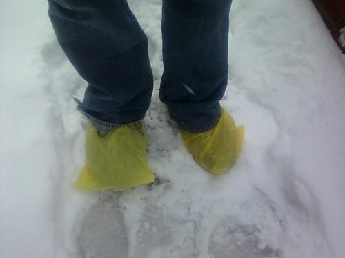Paul's snow boots