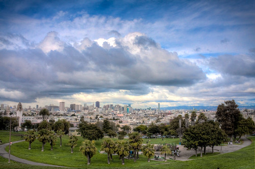 One of my favorite places in the city, Dolores Park