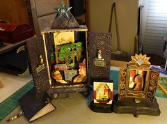 Miniature Shrine Collection (Terry.Tyson) Tags: art love collage assemblage shrines minishrine artshrine voxsacramento