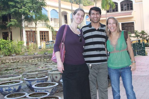 Frauke, Saqib and Amy