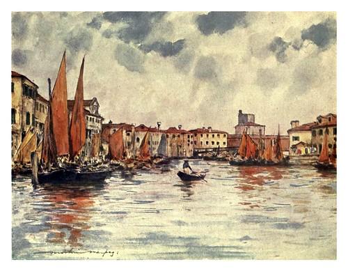 022-Chioggia en la laguna-Venice – 1904-Dorothy Menpes
