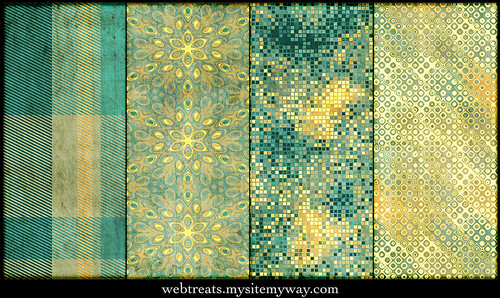 Webtreats Grungy Festive Seamless Photoshop Patterns Part 2