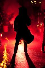 Marsden Imbolc Festival 2010 - Mr Fox (GaryJS ) Tags: festival fire drums dance nikon dancing mr smoke side dramatic event masks fox mysterious celtic drumming morris masked choreography flares pagan imbolc 2010 marsden d90 blueribbonwinner mrfox artofimages