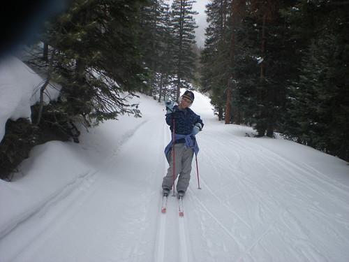 Emma the Nordic Ski Diva