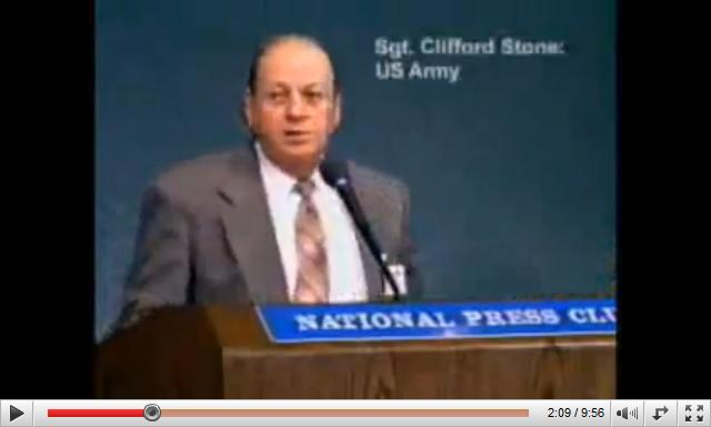 Clifford Stone US Army Sargent
