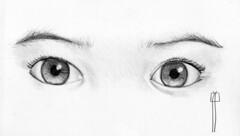 dibujos a lapiz de ojos MEMES Pictures