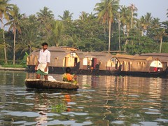 Backwater, Alleppey (Marc's Travel Photos) Tags: india kerala alleppey