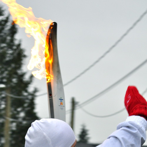 Burnaby Willingdon torch relay - 14