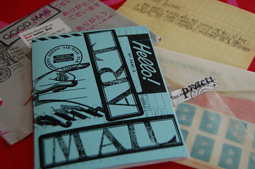 Mail Art Zine (Photo by iHanna - Hanna Andersson)