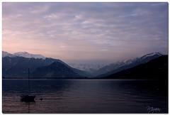 Impalpabile (Mizarin) Tags: sunset lake snow mountains montagne landscape lago tramonto barbara neve maggiore paesaggio verbania bassi mizarin