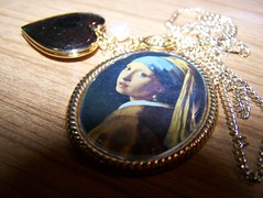 the girl (alyshannon) Tags: necklace trinket locket