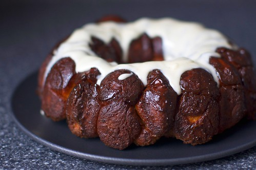 monkey bread with cream cheese glaze | smitten kitchen