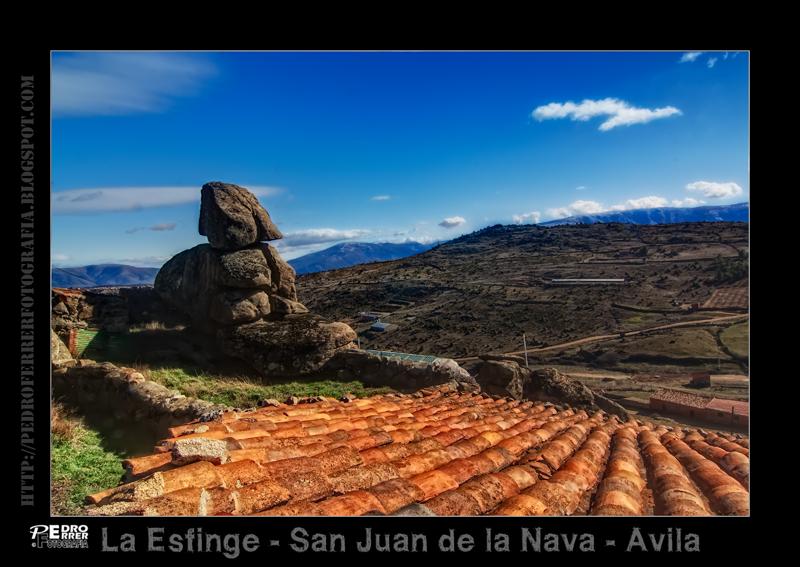 La Esfinge de San Juan de la Nava - Avila