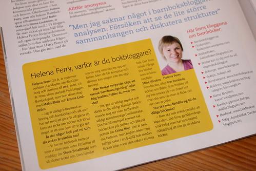 Intervjuad i Vi Föräldrar nr 3/2010