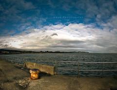 Pier Shot (Gerg) Tags: ireland sea sky irish clouds shot f8 bray 1770mm nohdr vertorama