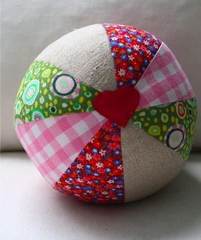 fabric baby ball