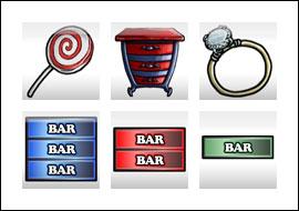 free Flea Market slot game symbols