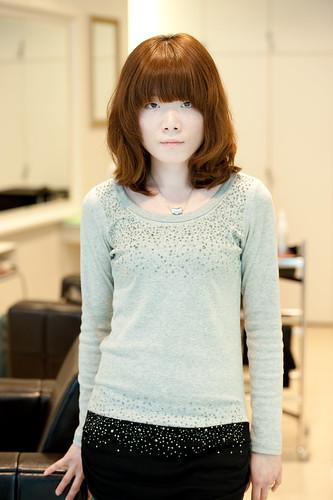 【 女生髮型 】 隨性及肩短髮