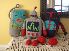 Domo Arigato Mr. Robot - kit! (No Knit Sherlock!) Tags: fun toy robot knitting robots ravelry knitpickskit knitpickssample