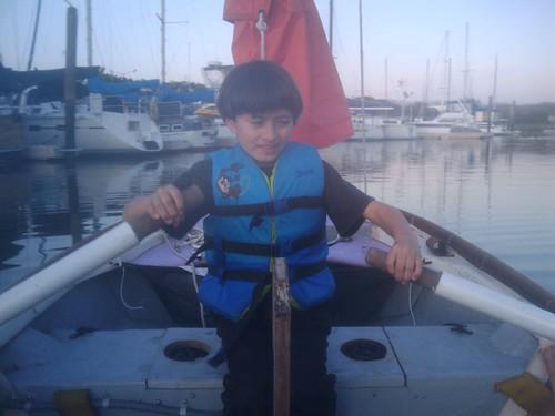 Milo rowing