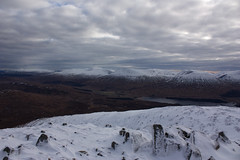 View over the Glen Orchy Hills