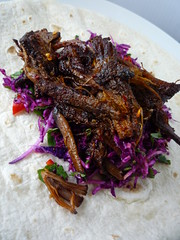 Chilli Beef Brisket Wraps