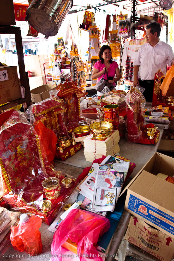 Chinese New Year Shopping @ Pudu Market, KL, Malaysia