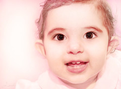 Earth Angel (j_aubz) Tags: portrait baby girl smile kid toddler child daughter 1855mm d3000