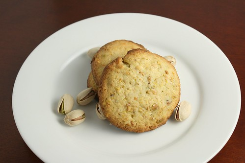 Meyer Lemon and Pistachio Cookies