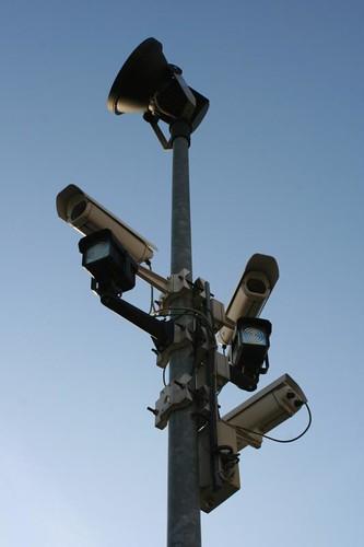 Videoüberwachung auf der Mathildenhöhe, Darmstadt
