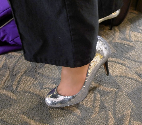 Sparkly Shoes for Blogger Bash