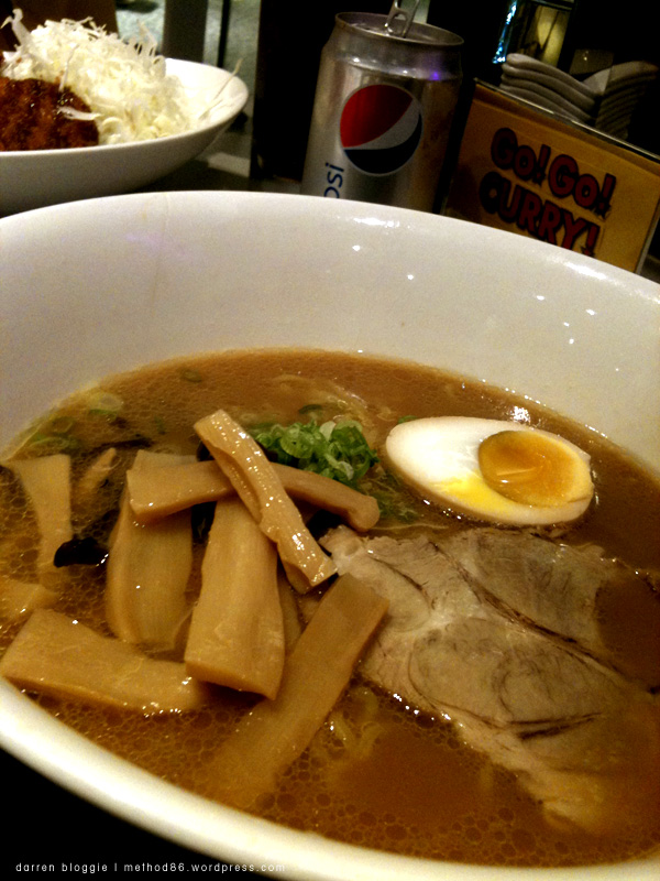 Ramen from Go Go Curry!