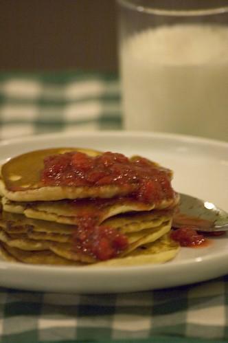 american pancakes koduse serveeringuga