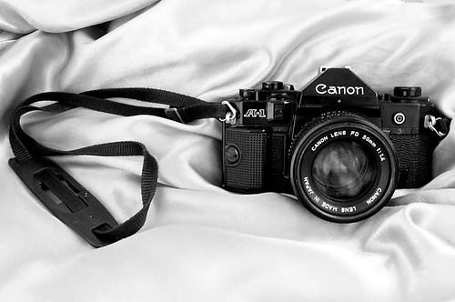 Minha querida Canon A1