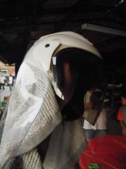 蜂炮體驗安全帽加護
