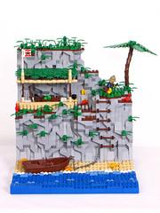 Finally Alone 5 (Shmails) Tags: island alone lego explorer contest jrc