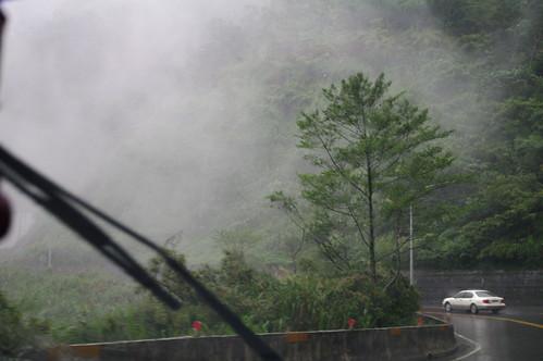 起霧的蘇花公路