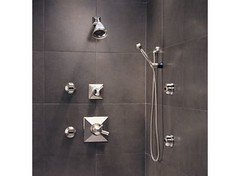 Vesi Medium Flow Custom Shower Collection (brizofaucet) Tags: stilllife shower photo faucet vesi brizo customshower vesichannel vesicurve mediumflow