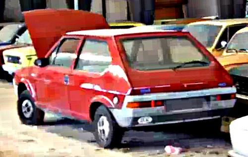 Red Fiat Ritmo
