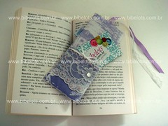 (www.bibelots.com.br) Tags: de gift livro brinde presente toile eventos tecido página marcador lembrancinha presentinho jouy