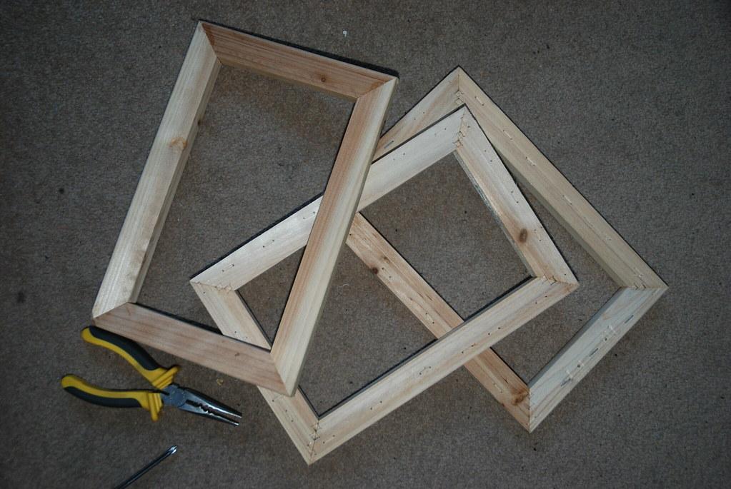 3 A4 Frames for £9