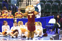 Goldy Gopher - mascot Minnesota Golden Gophers cheerleaders 2010-03-04 0235 Minnesota + Penn State (Badger 23 / jezevec) Tags: ladies college minnesota basketball lady women university state universit universit womens mascot penn lions donne conference mulheres bigten cheerleader majorette gopher  mujeres femmes 2010 ragazza faculdade baloncesto vrouwen frauen goldy nittanylions hochschule  basketbal pallacanestro    jezevec    goldengophers      animadora minnesotagoldengophers          badger23  kokov basketbalov  lderdaclaque 20100304