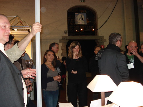 Réception au stand Quadrature par Marie Tafforeau