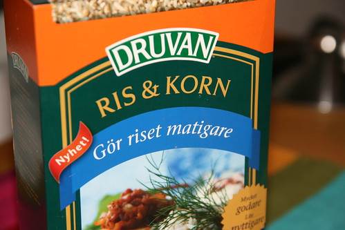 Produkttest Druvans ris och kornblandning