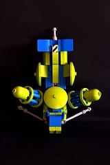 "LSB 38 - Space Miners - ""Nr.1"" (Chiefrocker9000) Tags: bike lego space slug speeder miners lsb glug moc swisslug legospeederbike spaceminers"